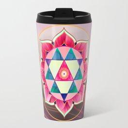 Durga Yantra Travel Mug