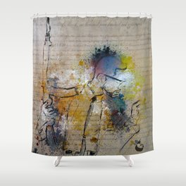 Citizen X Shower Curtain