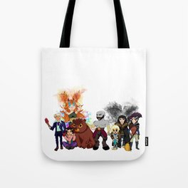 Vox Machina, Critical Role Colour Art Tote Bag