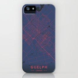Guelph, Canada - Neon iPhone Case