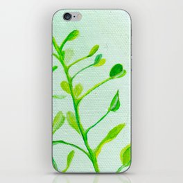 Green Vines iPhone Skin