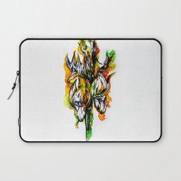 Fire Flower Laptop Sleeve