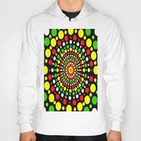 rasta Hoodies featuring Rasta by Liqrush