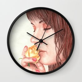 Sweet Perfume Wall Clock