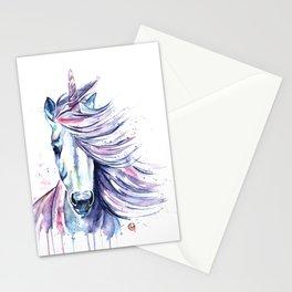 Unicorn - Gust Stationery Cards