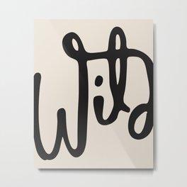 wild abstract Metal Print