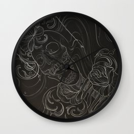 the remains  Wall Clock