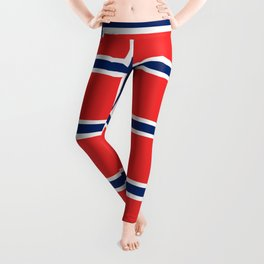 flag of norway Leggings