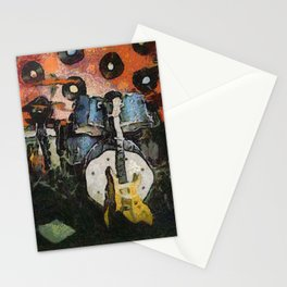 the last gig Stationery Cards