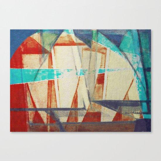 Stilt House 4 Canvas Print