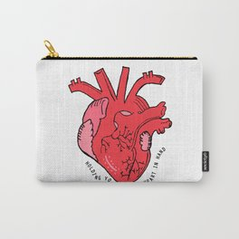 Scarred Heart Carry-All Pouch