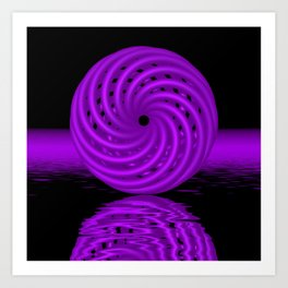 knotted circles -2- Kunstdrucke