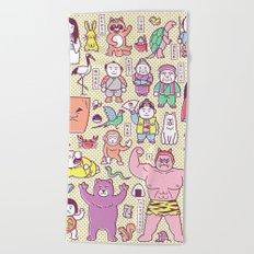 Mukashi-Banashi / Japanese Folk Tales Beach Towel