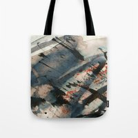 wave Tote Bags featuring Wave  by Peter Coleman