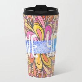 Love you - Boho Gypsy Soul Mandala Travel Mug
