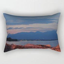 Lago di Garda Rectangular Pillow
