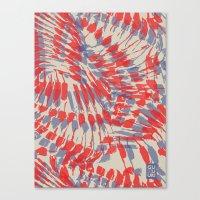 iggy Canvas Prints featuring Iggy Palms by Gukuuki Studio