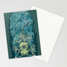 s'accrocher à l'amour Stationery Cards