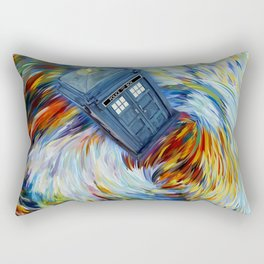 Tardis Time vortex Rectangular Pillow