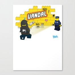 LEGO VANDAL Canvas Print