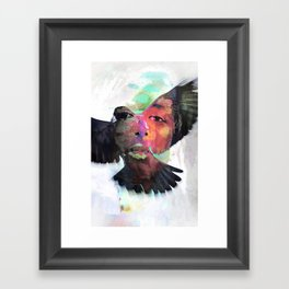 Faith or Flight? Framed Art Print