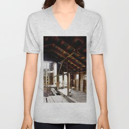 Exploring the Longfellow Mine of the Gold Rush - A Series,No. 5 of 9 Unisex V-Neck