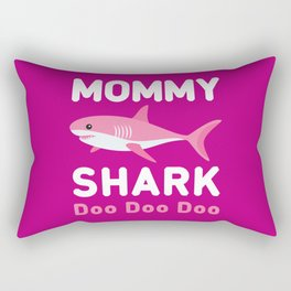 Mommy Shark Rectangular Pillow