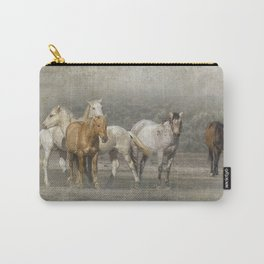 A Band of Horses Carry-All Pouch