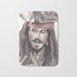 Black Pearl's Capt. Jack Sparrow Bath Mat