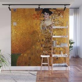 Gustav Klimt portrait painting of Bloch-Bauer Wall Mural