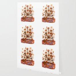 Floral Charm No.1F by Kathy Morton Stanion Wallpaper