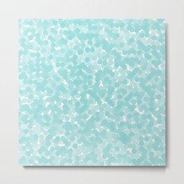 Limpet Shell Polka Dot Bubbles Metal Print