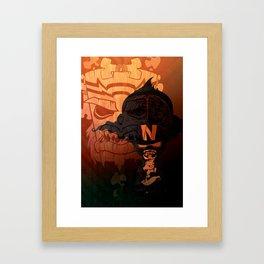 Defiance Framed Art Print