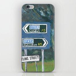 Watling Street Roman Road iPhone Skin