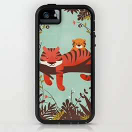 Sleeping Tiger iPhone Case