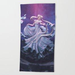 Princess Serenity Beach Towel