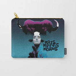 Hats, Hooves and Horns Carry-All Pouch