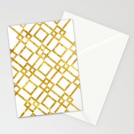 Golden Screen Stationery Cards