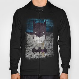 Bat grunge superhero Hoody