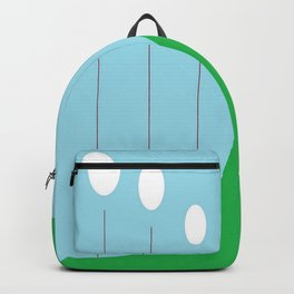 Abstract Landscape - Lights on the Hill Backpack