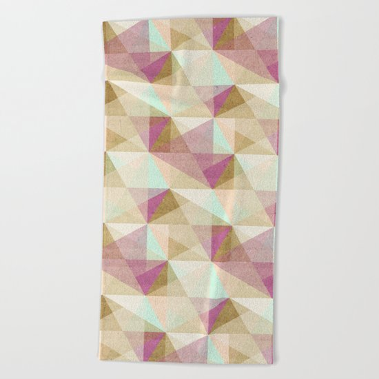 Geometric#24 Beach Towel