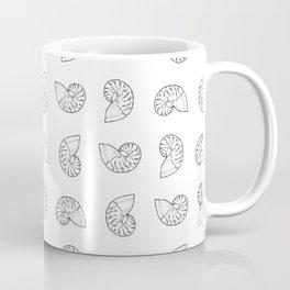 Nautilus Shell Print Coffee Mug