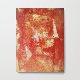 Fragmentary Man Metal Print
