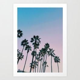 Palms Palms Palms Art Print