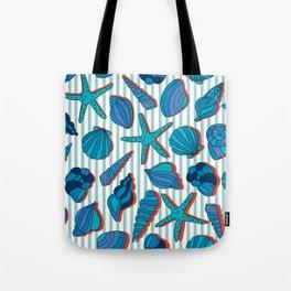 summer time blue Tote Bag
