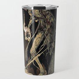 Masked Travel Mug
