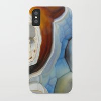 geode iPhone & iPod Cases featuring Geode by Stephanie Calvert