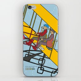 Wilbur and Orville Wright, 1903 iPhone Skin