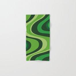 70's Green Vibe Hand & Bath Towel
