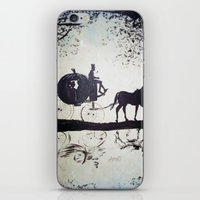 cinderella iPhone & iPod Skins featuring Cinderella  by Lamont Powell